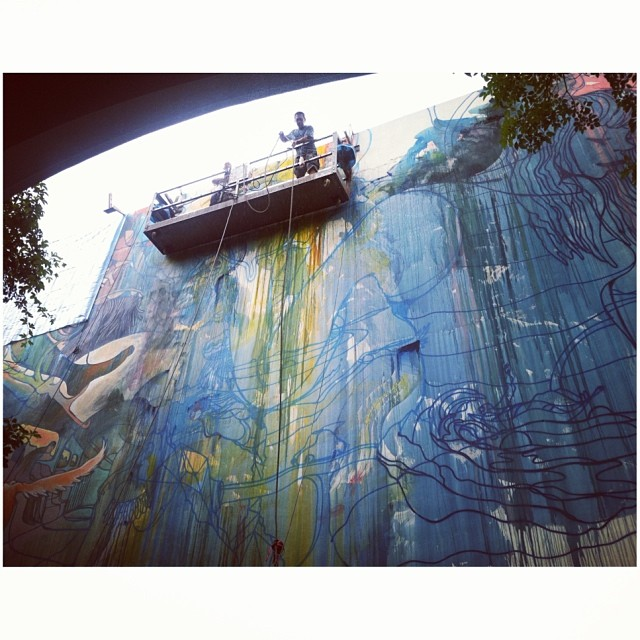 Banksy Street Art Tours Taiwan #powwowtaiwan @will__barras 👍