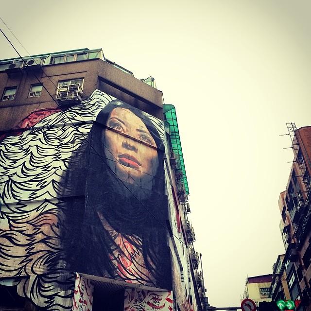 Banksy Street Art Tours Taiwan #powwowtaiwan