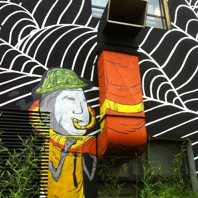 Banksy Street Art Tours Taiwan #powwowtaiwan #powwow